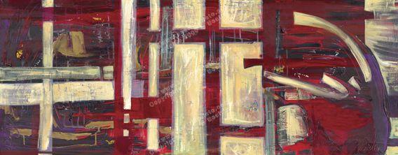 Abstracto Rojo