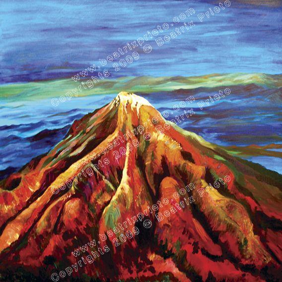 Volcán Rojo