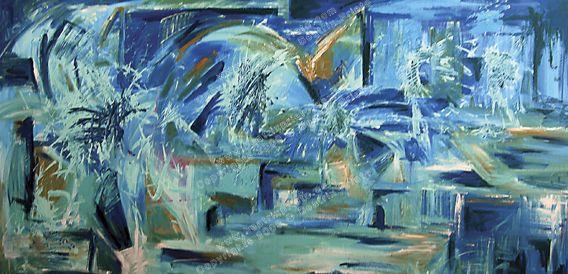 Azul como Ojera de Mujer