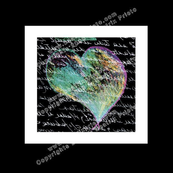 11.- Letras Corazón / Heart Letters
