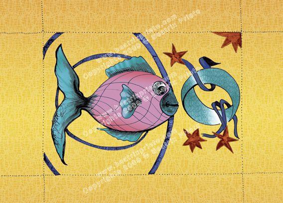 2.- Pez Estrellas/Fish & Stars