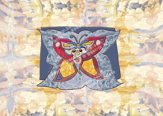 34.- Mariposa / Butterflies