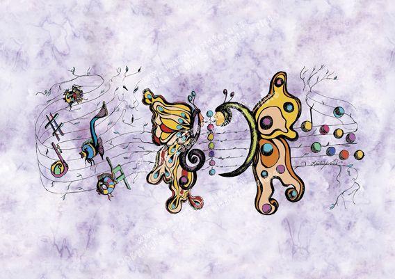 35.- Música y Mariposas / Music and Buterflies