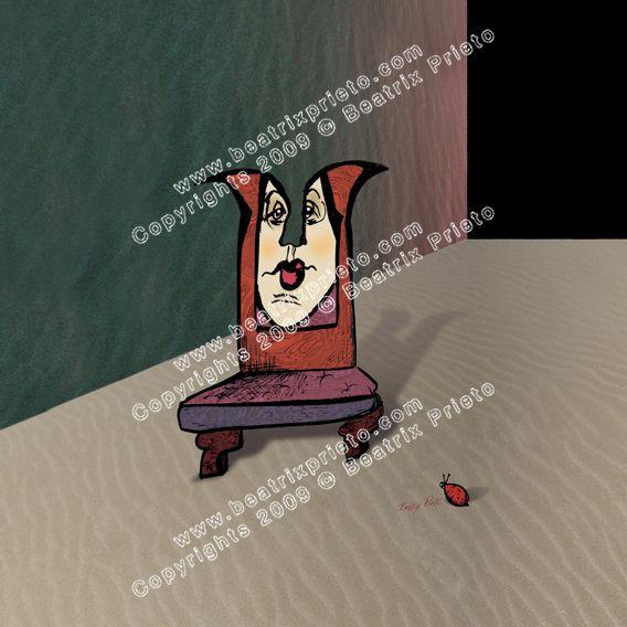 49.- LA silla y la Catarina / The Chair and the ladybug