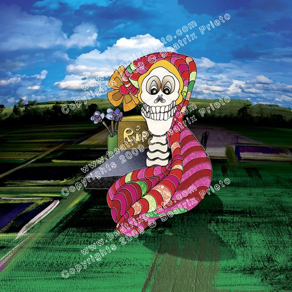 85.- Calaca / Happy Skeleton