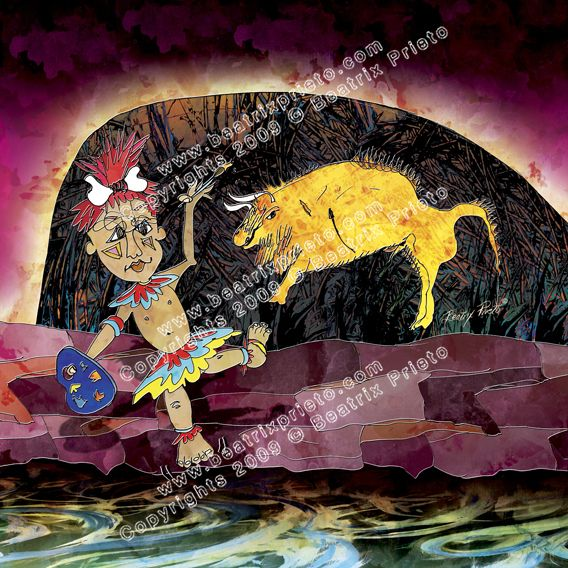 92.- Cavernicolita / The cave painter